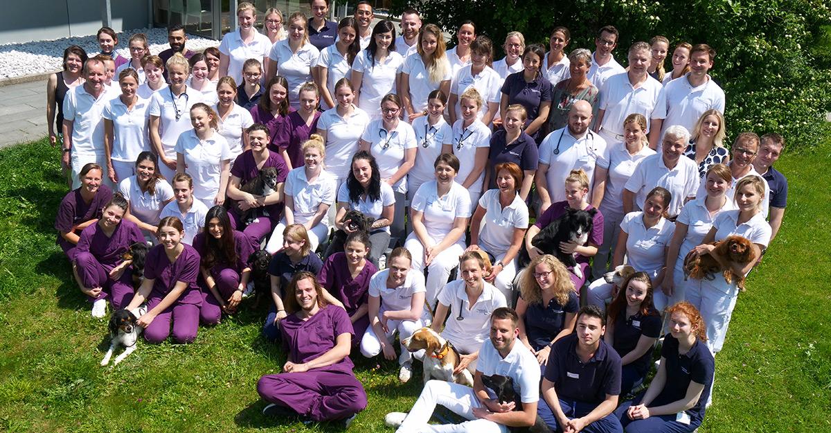 Das Team der Tierklinik Oberhaching