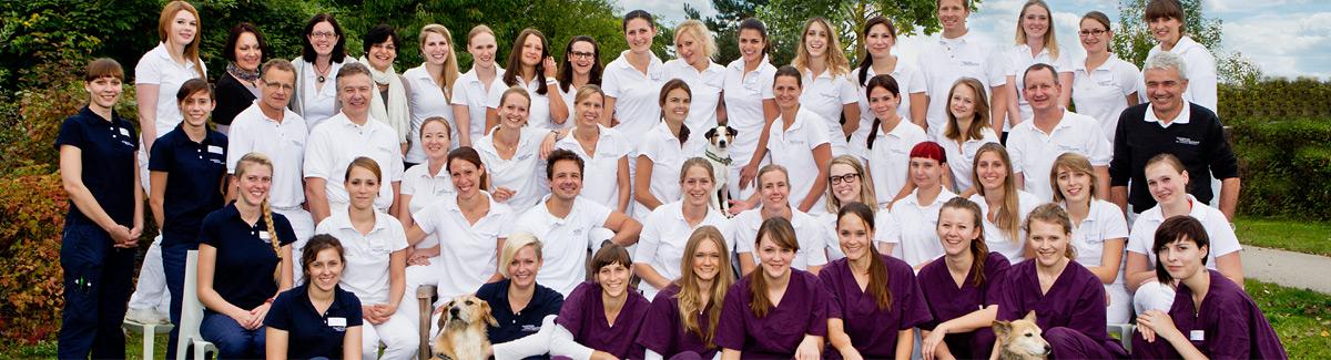 Klinikteam der Tierklinik Oberhaching